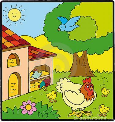 Cuento: Novedades en la granja