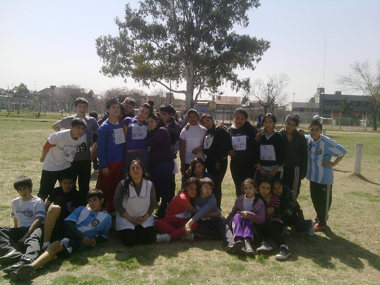 Fuimos al torneo de atletismo!!!
