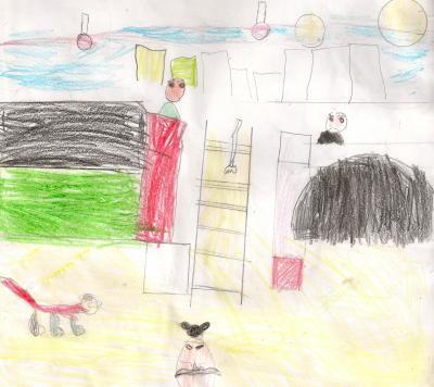 El país de los colores. Un cuento escrito a partir del cuadro Rocas Lagui de Xul Solar